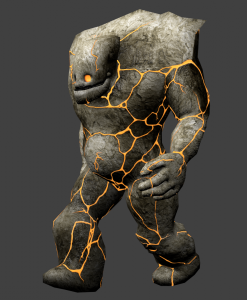 golem-free-3d-animated-model