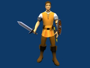 militia-peasant-free-3d-animated-model