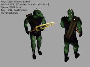 reptilian-3d-model-animated-free