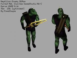 reptilian-3d-model-animated-free