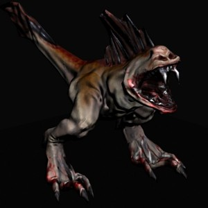 zard-creature-free-3d-animated-model