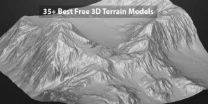 35+ Best Free 3D Terrain Models