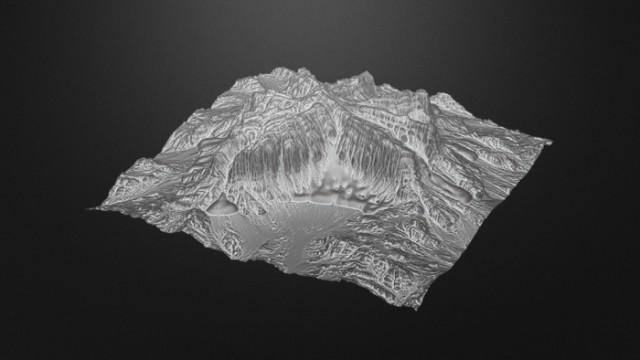 Alien-Glacier-Terrain-free-3d-model