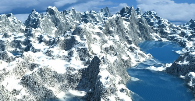 Ice-Mountain-free-3d-model-maya