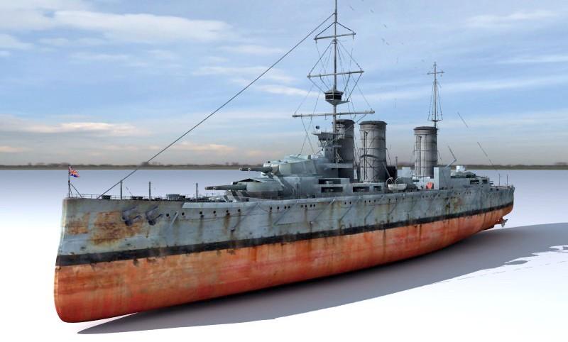 Battlecruiser-3d-model