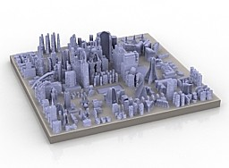 City-3D-Model-free
