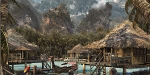 Coconut-Bay-scene-3d-model