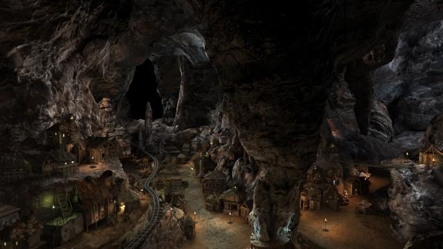 Complex-Cave-3d-model