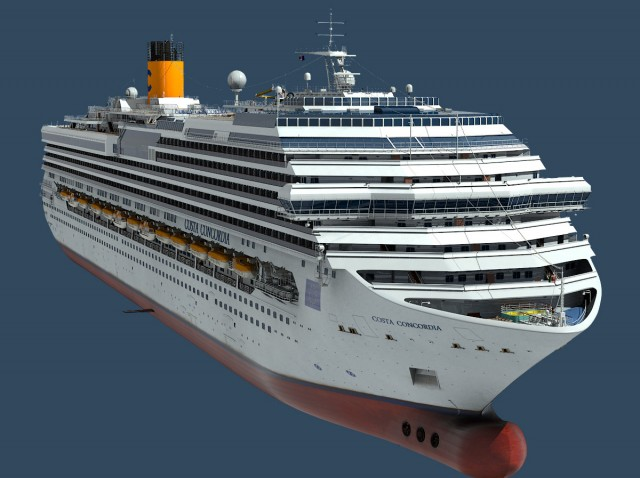 Costa-Concordia-Cruise-Ship-3d-model