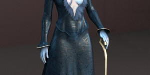 Countess_Schnucklchen_free_3d_rigged_model