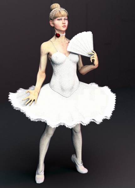 Dancer_Schnucklchen_free_3d_rigged_model