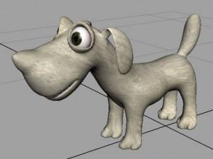 Dog-RIG-free-3d-model