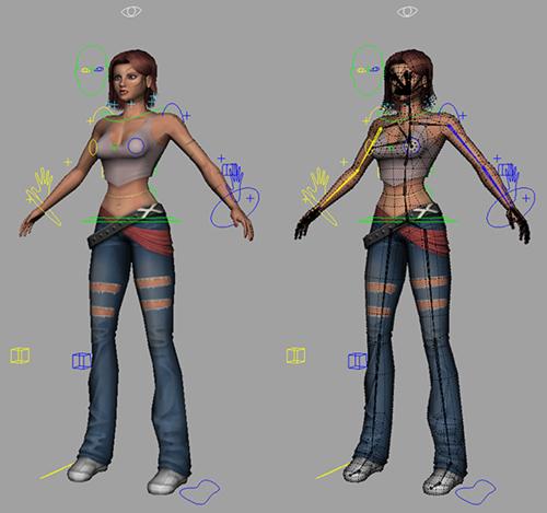 Free-Model-Kila-Rigged-Character-3d