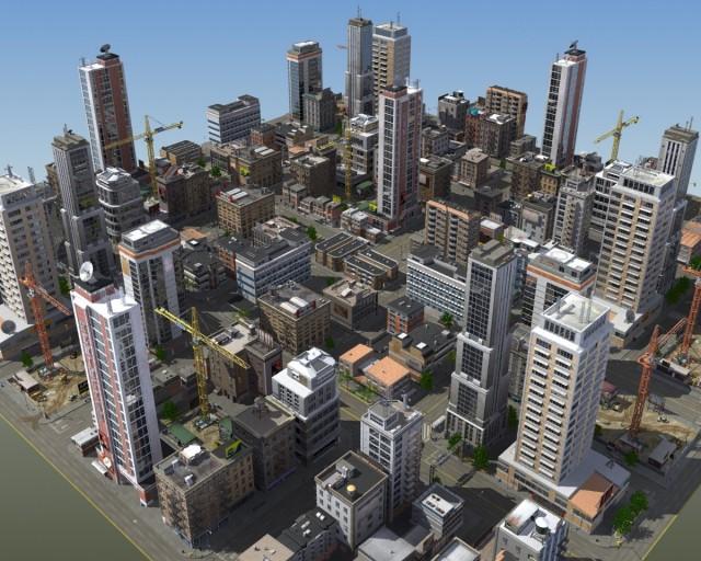 HD-City-3d-model