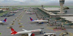 International-Airport-Vehicles-Planes-3d-model