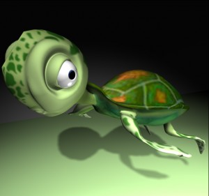 Little-Turtle-Rigged-3ds-Max-free-3d-model