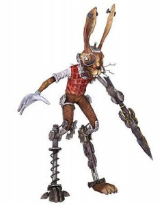 MarchHare-Rigged-3ds-Max-free-3d-model