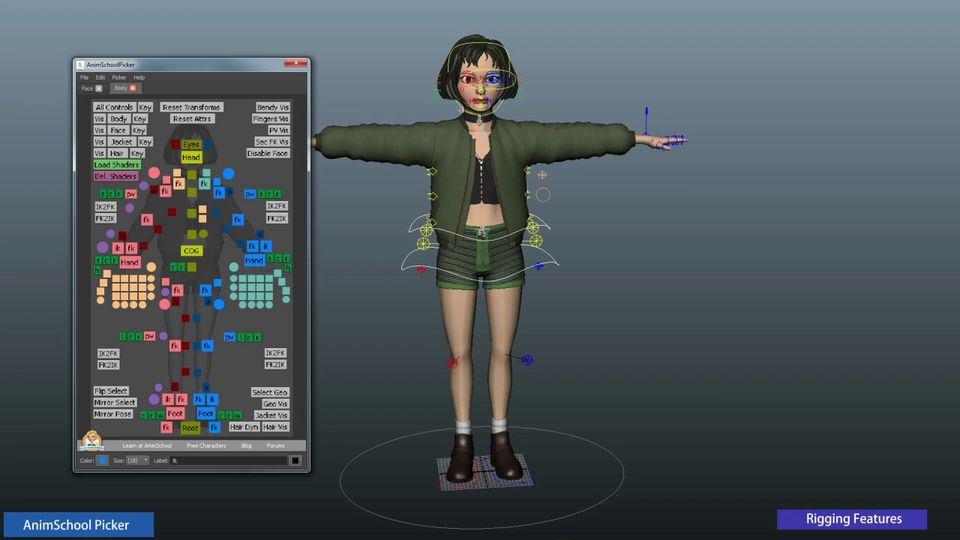 Mathilda-Free-Rigged-model-3d