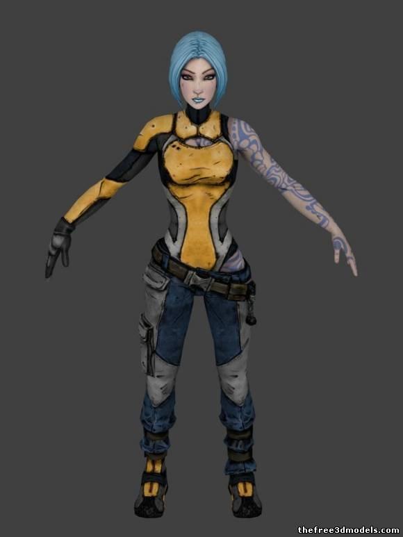 Maya-3d-model-free-rigged