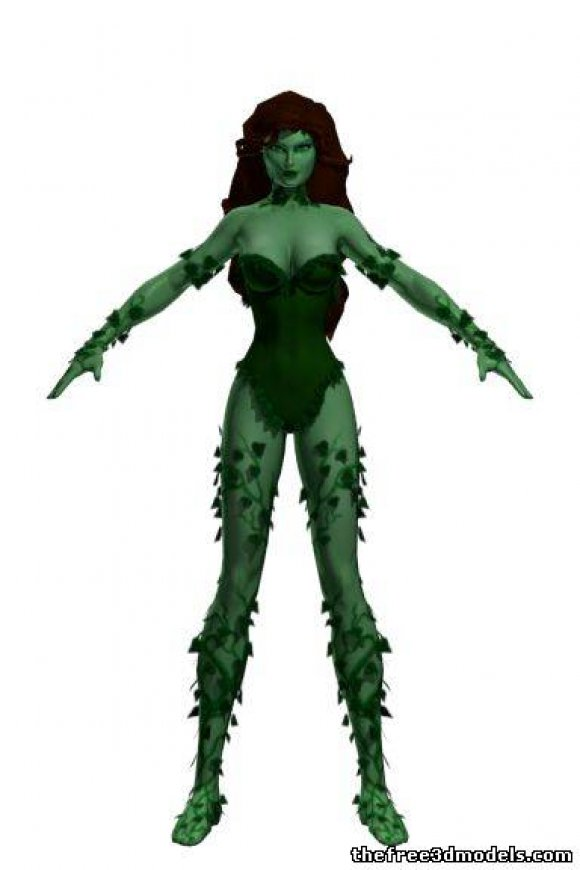 Poison-Ivy-3d-model-free-rigged