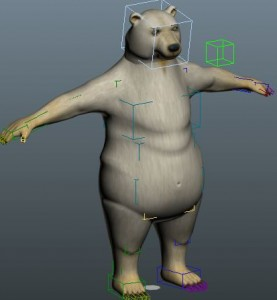 Polar-Bear-Rigged-3ds-Max-free-3d-model