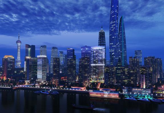 Scene-ShangHai-City-3D-Model