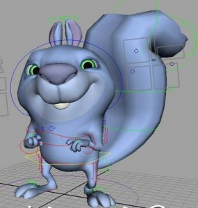 Squirrely-Rig-free-3d-model