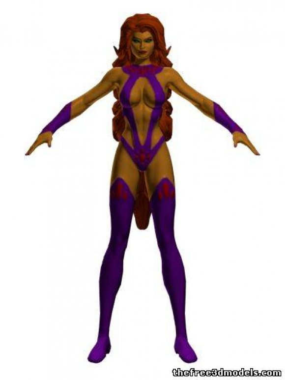 Starfire-3d-model-free-rigged