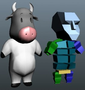 Toon-Cow-Rigged-free-3d-model