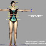 Tweety-free-3d-rigged-model