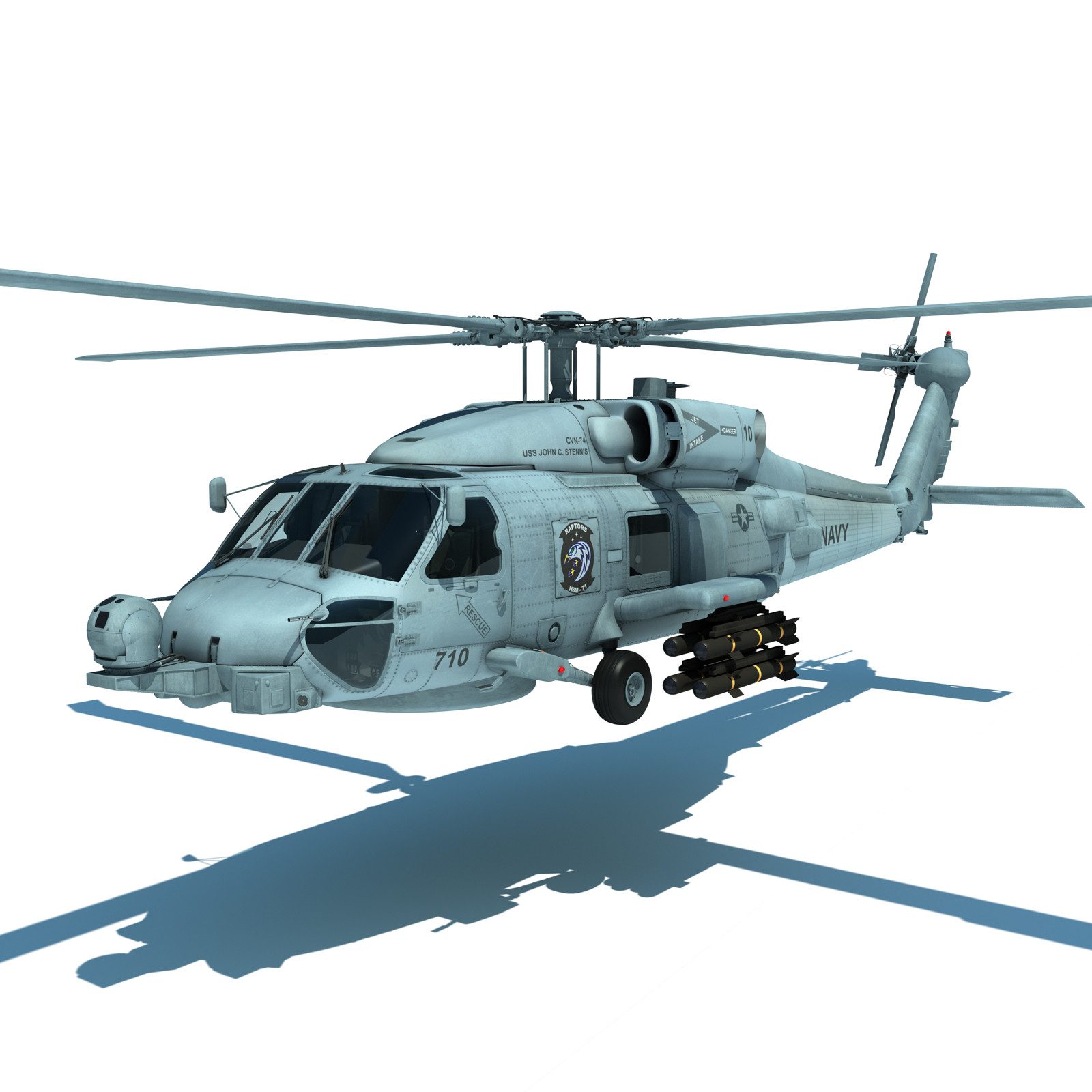 US-Navy-Helicopters-3d-model