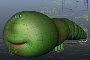 Worm-Rig-free-3d-model