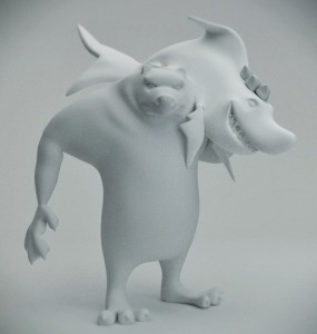 bearshark-3d-model-blender-free-rig