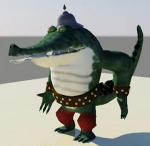 croc-bandit-riged-free-3d-model