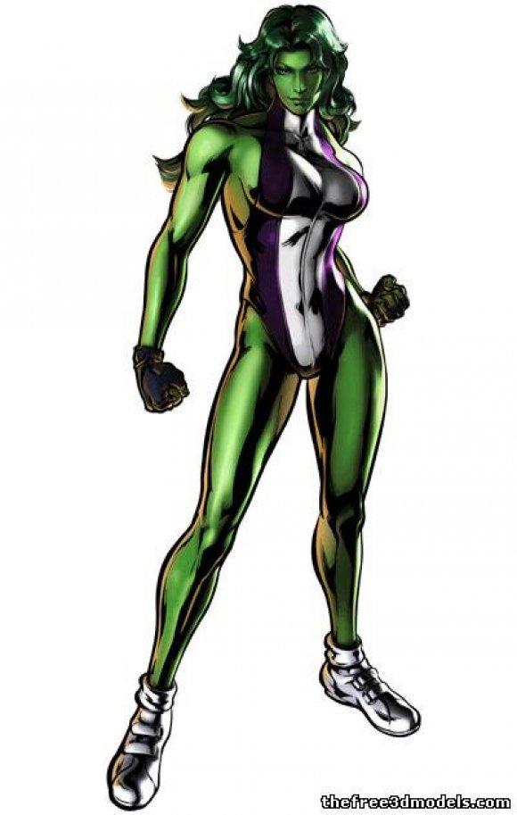 she-hulk-3d-model-free-rigged