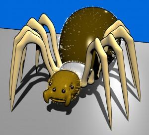 spider-free-3d-rig-model