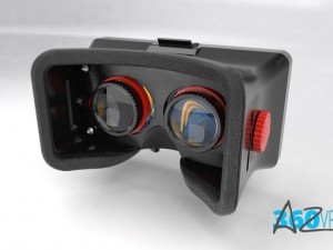 3D printable VR Headset for smartphones