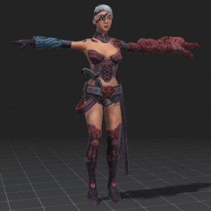 Acina-free-3d-rigged-model