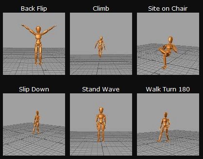 BeyondMotion Motion capture
