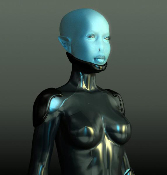 Blue-Alien-Girl-free-3d-rigged-model