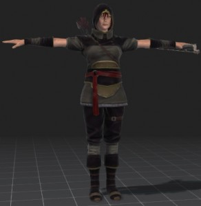 Erika-Archer-free-3d-rigged-model