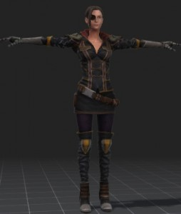Eve-free-3d-rigged-model