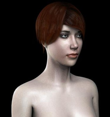 Human-Girl-free-3d-rigged-model