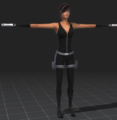 Mia-Action-free-3d-rigged-model