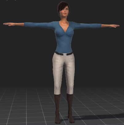 Mia-Business-Girl-free-3d-rigged-model