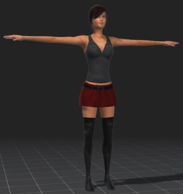 Mia-free-3d-rigged-model
