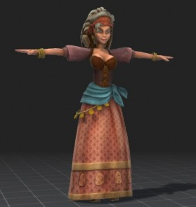 Peasant-Girl-free-3d-rigged-model