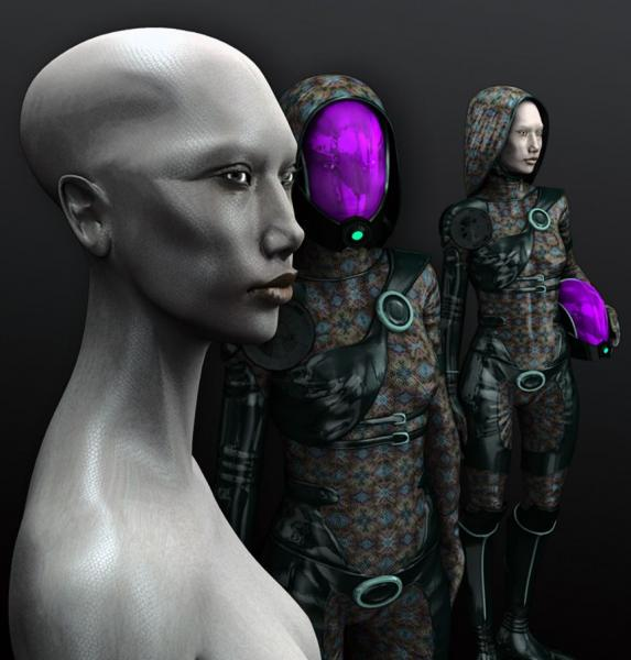 Quarian-Alien-Girl-free-3d-model-rigged