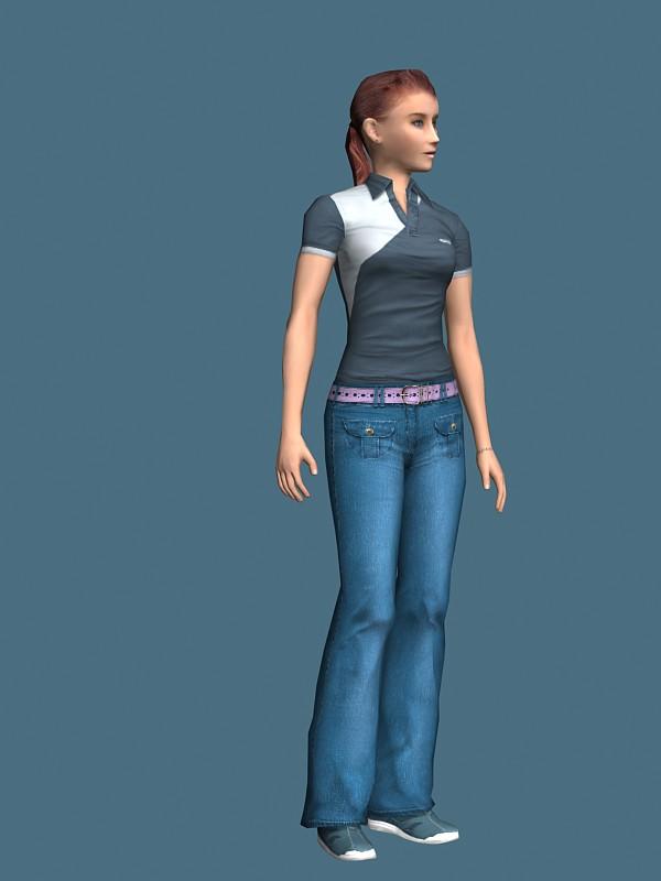 Slim-girl-rigged-3d-model-free