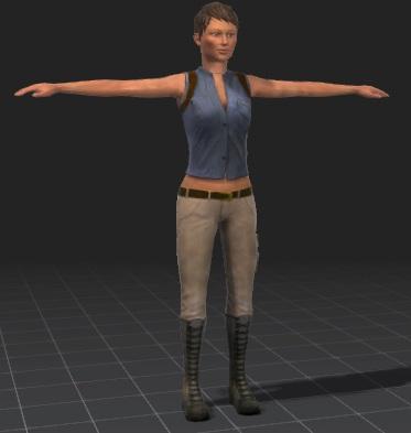 Zoe-free-3d-rigged-model